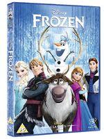 Frozen UK DVD 2014