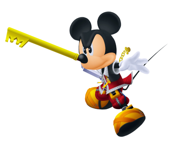 File:King Mickey (Battle) KHII.png