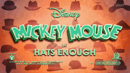 Mickey Mouse Hats Enough title card