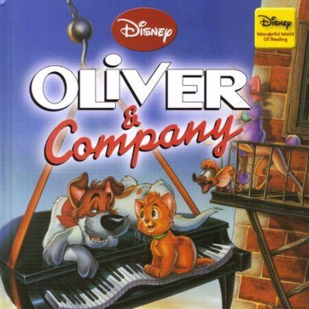 Oliver Company Disney S Wonderful World Of Reading Disney Wiki Fandom