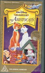 The Aristocats 1999 AUS VHS