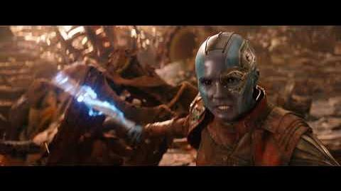 Мстители Война бесконечности - Специальный ролик