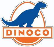 Dinoco Logo