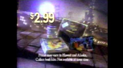 February 1, 1992 Bugs Bunny and Tweety Show Commercial Block 3