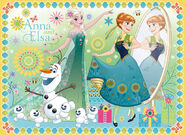 Frozen Fever - Anna, Elsa and Olaf