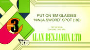 McNinja - Put on 'em Glasses Spot