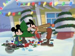 Mortimer getting ready to beat up Mickey