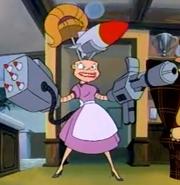 Mrs. Roborson (true form)