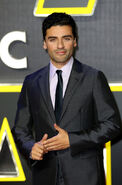 Oscar Isaac SW Force Awakens premiere