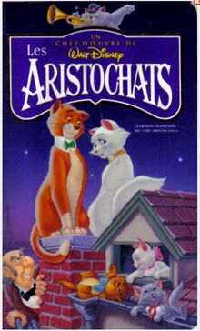 The Aristocats 1996 French Canadian VHS