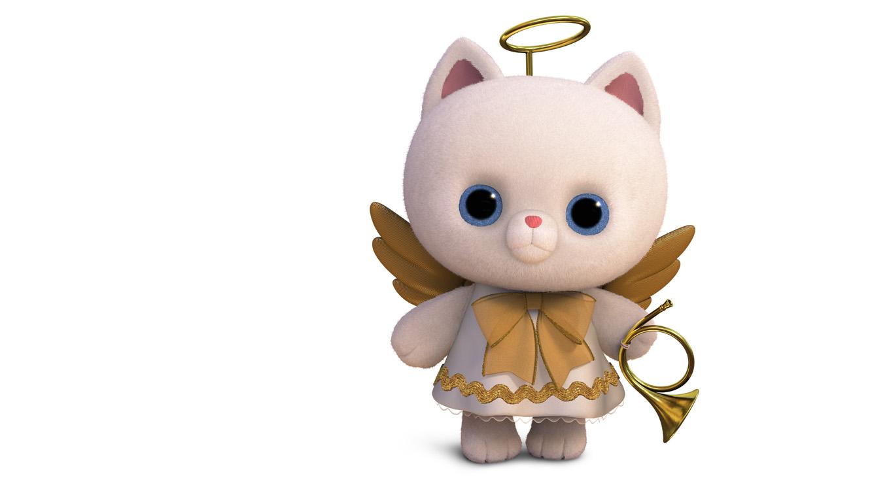 Angel Kitty Disney Wiki Fandom