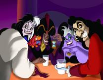 Villanos sentados