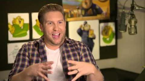 "Zootopia Zootropolis ""Clawhauser"" Behind The Scenes Interview - Nate Torrence"