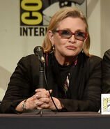 Carrie Fisher SDCC