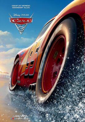 Cars 3 teaser poster NL