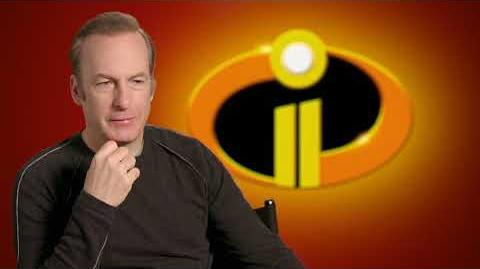 "Incredibles 2 ""Winston Deavor"" Behind The Scenes Bob Odenkirk Interview"