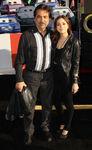 Joe Mantegna & daughter Gia Cars2 premiere