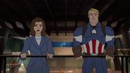 Steve & Peggy Avengers Secret Wars 02