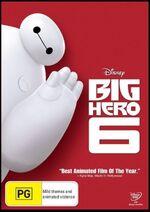 Big Hero 6 2015 AUS DVD