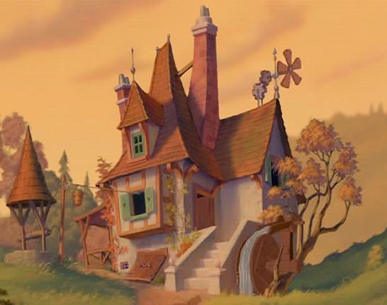 La casa de maurice disney wiki fandom powered by wikia - Casa blancanieves simba ...
