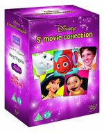 Disney 5 Movie Collection Girls Box Set UK DVD