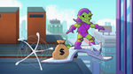 Green Goblin in Marvel Super Hero Adventures
