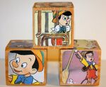 Pinocchio wooden blocks