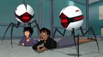 Spiderbots attack