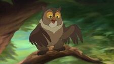 Vriend Uil in Bambi 2