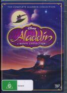 Aladdin 3 Movie Collection 2013 AUS DVD