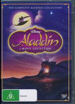Aladdin 3 Movie Collection 2013 AUS DVD