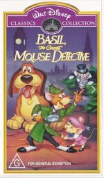 Basil the Great Mouse Detective 1999 AUS VHS