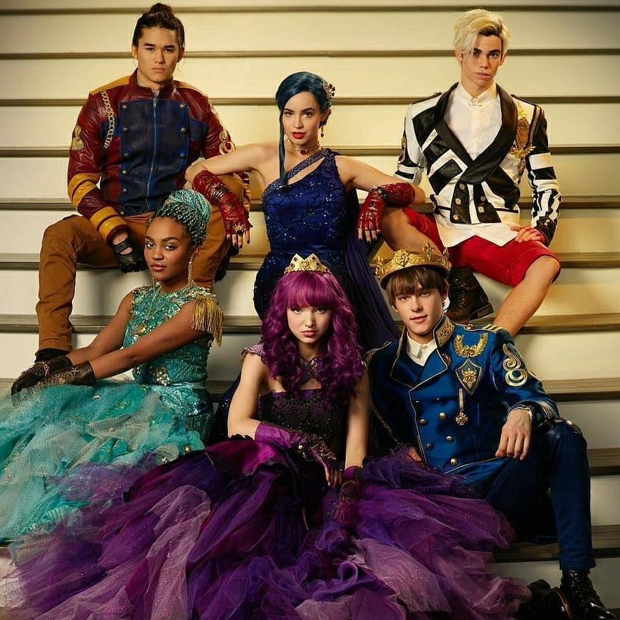 Image  Descendants 2 cast photo.png  Disney Wiki