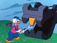 Donald fixes teeth of shovel