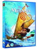 Moana DVD UK 2017