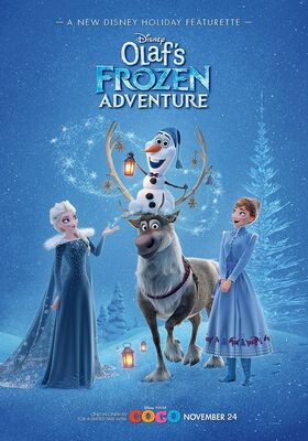Olaf Frozen Adventure Arabic