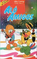 Saludos Amigos 1988 Brazil VHS