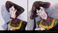 The hunchback of notre-dame character design frollo 10