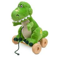 Toy Story Rex Plush Pull Toy