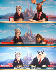 Zootopia American Japan anchors