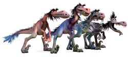 Велоцирапторы - Хороший динозавр