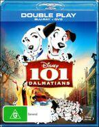 101 Dalmatians 2012 AUS Blu Ray + DVD