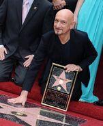 Ben Kingsley Hollywood Walk of Fame