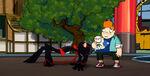 Big Trouble in Little Norrisville - Ninja and Howard