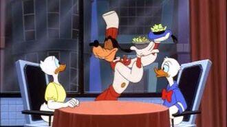 Donald Duck - Donald's Dinner Date