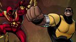 Iron-Spider and Power Man USMWW