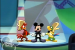 Jose and Panchito shaking hands with Mickey(2)
