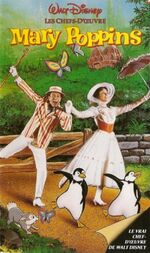 Mary Poppins 1991 France VHS