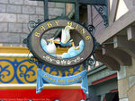 Mr. Stork on the sign for the Baby Mine at Fantasyland from Tokyo Disneyland