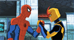Nova and Spider Man USM 9
